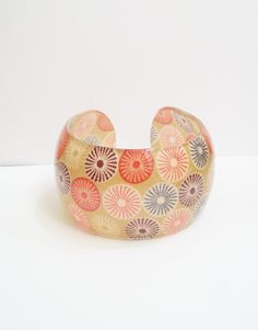Geometric Jewelry Colorful Cuff Bracelet Indie by JesseAnneDesigns, $28.00