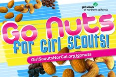Girl Scouts NorCal's Fall Nut & Magazine Sale is Oct. 4-Nov. 24, 2013! Help girls raise funds for fall activities and service projects! http://www.girlscoutsnorcal.org/gonuts