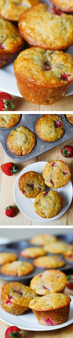 muffin recipes, strawberri banana, banana bread, bread muffin
