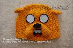 Free Crochet Jake The Dog Hat