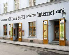Bohemia Bagel - good food, Internet, coffee, delicious french fries ...