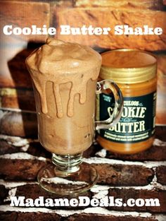 Cookie Butter Shake Recipe http://madamedeals.com/cookie-butter-shake-recipe/ #cookiebutter #speculoos #inspireothers