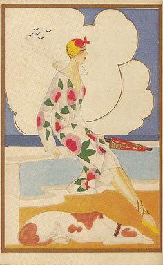 Postcard, 1920s