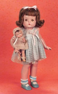 Patsy Ann with Baby Tinyette by Effanbee - Theriault's Antique Doll Auctions