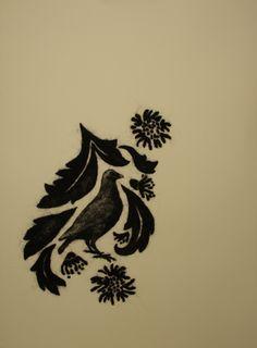 Stephanie Metz Portfolio | Wool Birds on Paper