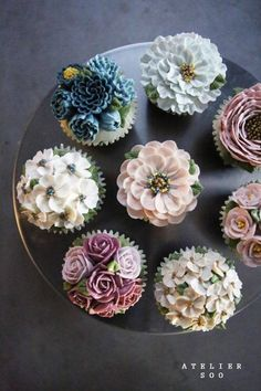 #flower #cupcakes