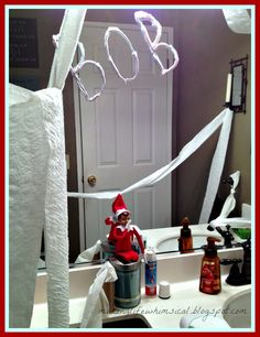 Elf on the Shelf - hilarious!