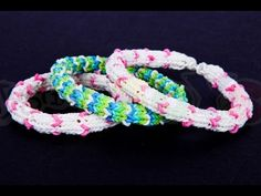 How to make the Hexafish Mini Hearts Variation - Rainbow Loom Tutorial, DIY