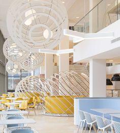 Nuon Headquarters Amsterdam by Heyligers Architects interior design, amaz space, offic design, commerci space, design blogs, idea design, conform shape