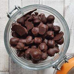 Crunchy Chocolate Chickpea Snacks (Gluten-Free, Vegan)