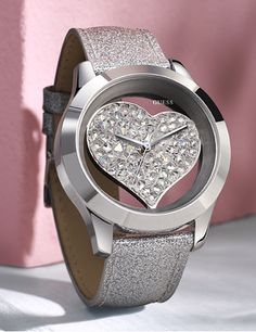 Look of Love | GUESS Watches  #pinlovewithguesswatches