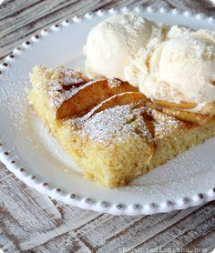 Norwegian Apple Cake The House of Smiths #dessert #cake #recipe