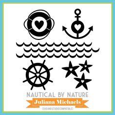 Nautical By Nature Free Cut File by Juliana Michaels