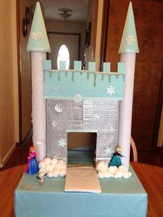 Frozen castle valentines box