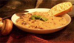 Wild Mushroom Bisque. Photo by wicked cook 46