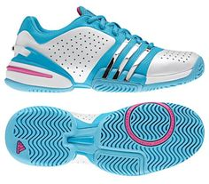 Women's Tennis Shoe Adidas Barricade Adilibria 2011 #TennisCouture #TennisFashion