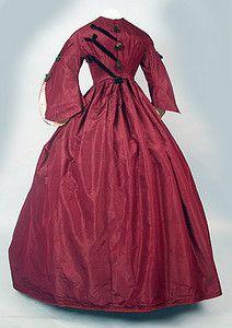 Dress, 1855-1860