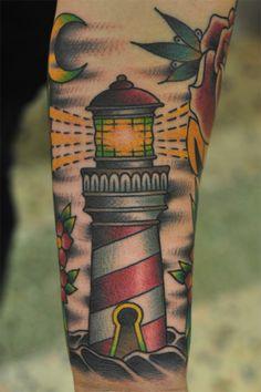 #lighthouse #tattoo