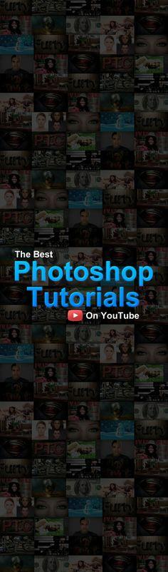Photoshop Video Tutorials on YouTube
