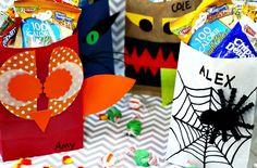 Halloween DIY Trick or Treat Bags