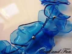 Creative Recycling - Craft and Fun: Plastic bottle necklaces DIY