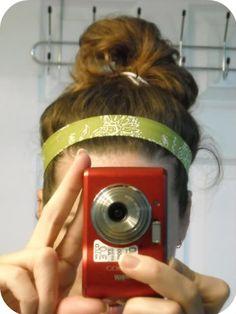 10 Minute Fabric Headband Tutorial