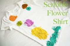 The Scribble Flower T-Shirt Tutorial