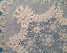 Antique crochet lace