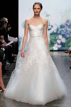 monique lhuillier wedding dress 2012