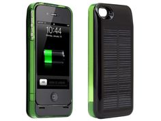 Hybrid iPhone 4/4S Solar Charger Case from Aaron Berger