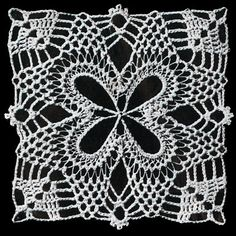 pineappl squar, crochet patterns