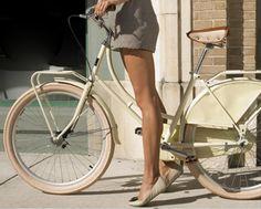summer time + bare legs + 2 wheels