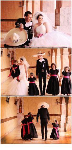 Mexican Wedding. Simple y elegante.