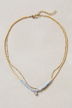 Double Vale Necklace #anthropologie