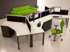 Perfect TR10 120 Degree Office Desk
