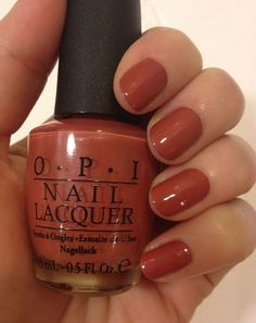 #OPI #Marrón