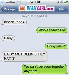 I'm so telling this joke now. Ha ha ha ha ha