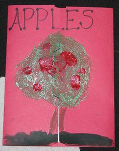 Apples ~ Lapbook - 1+1+1=1