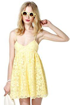 Nasty Gal Sun Showers Dress