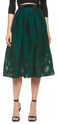 jacquard full skirt http://rstyle.me/n/npfbapdpe
