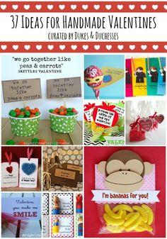 37 ideas for handmade valentines