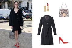 The New Wave of Chic Parisienne It Girls  – Vogue -  Stacy Martin, actress