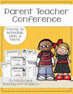 Free forms for parent teacher conferences AND tips for holding successful conferences.
