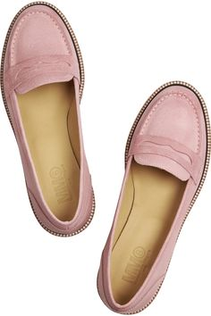 MM6 Maison Martin Margiela|Leather loafers|NET-A-PORTER.COM mm6 maison, margiela leather, martin margielaleath, maison martin, leather loafer