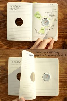 Cool planner/to do list idea. Plan your day around the clock.