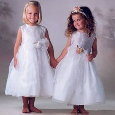 NWT Brand New Sara Lene Flower Girl Wedding Silk Top White Dress From Baby to Teens (Apparel)  http://www.1-in-30.com/crt.php?p=B001J780FK  B001J780FK