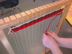 Little Busy Bodies; great blog and great ideas for weaving