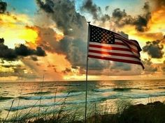 beaches, american pride, flags, crown, god bless, shine sea, beauti, bless america, freedom ring