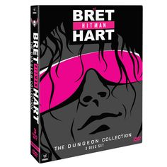 """Bret """"Hit Man"""" Hart - The Dungeon Collection DVD - #WWE"""