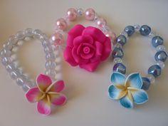 Flower pearl bracelets